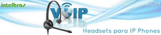e6f2979e6 Temos headsets para o terminal Intelbras - SIP Intelbras TIP200 IP-Phone.  São Headsets projetados para trabalhar conectados diretamente ao seu telefones  IP ...